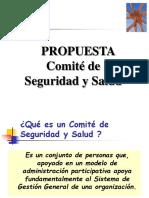 PROPUESTA COMITE DE SEGURIDAD Y SALUD EN EL TRABAJO - ABRIL 2009.ppt