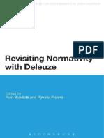 BRAIDOTTI Et Al. Revisting Normativity With Deleuze.