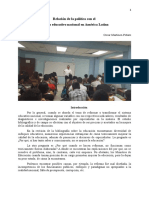 Sistema Educativo Nacional en América Latina