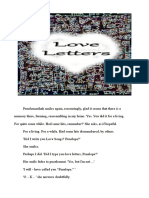 Love Letters Excerpt from novel In Time Vol 1 c@p neville powell 2013