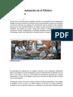 Química y Sustancias en El México Prehispánico