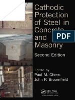 Paul M. Chess, John P. Broomfield Cathodic Protection of Steel in Concrete and Masonry, Second Edition
