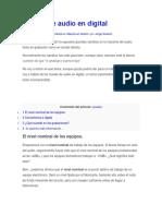 SObre DBFS y Nivel Nominal
