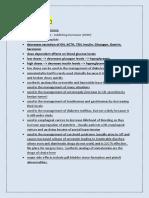 sheet2 pharmacology2