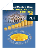 Nepal Rastra Bank Strategic Plan 2012-2016