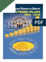 Nepal Rastra Bank Strategic Plan 2012-2016