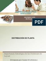 Distribución de Planta...