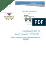 FINALtransformadores Monofasicos en Conexion Trifasica