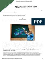 """""""Los pensamientos curan más que los medicamentos"""" _ AldeaViral.pdf"""