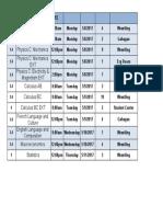 2017 AP Exam Schedule - Week 2