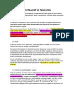 INSTRUCTIVO PARA LA PREPARACION DE ALIMENTOS.docx