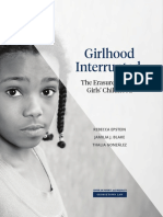 Girlhood Interrupted