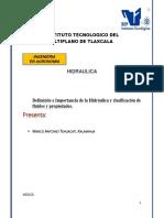 Definición e Importancia de la Hidráulica.docx