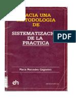 Gagneten, Maria Mercedes -  Hacia una Metodología de la Sistematizacion de la Practica..pdf