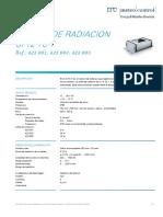 DB Sensor de Radiation SI-12-TC-T Es