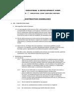 Construction Checklist & Guidelines,.
