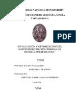 SOSTENIMIENTO CON CIMBRAS EN MINERIA SUBTERRANEA.pdf