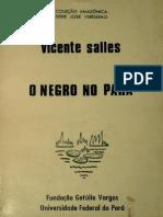 O Negro No Pará-Vicente Salles