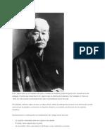 El Dr Jigoro Kano Fundador Del Judo