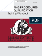 Hobart Institute. Welding Procedures and Qualification Training Workbook [ Inspection Academy]