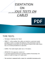 Cables Presentation