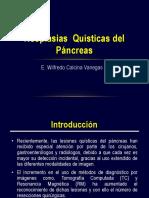 Neoplasia Quistica Pancreatica Rm