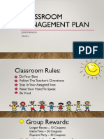 classroom management plan jodie robinson