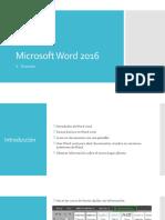 Microsoft Word 2016 - 01