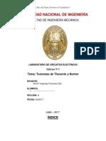 Informe de Laboratorio N_3 - Teoremas de Thevenin y Norton_03!05!17_2147_pm
