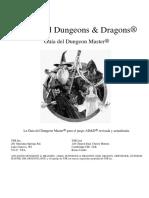 AD&D 2.0 - Guia del Dungeon Master revisada y actualizada por fans.pdf