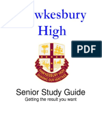 Senior Study Guide Year 12