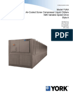 BE Engineering Guide Model ENG20128 YVAA Variable Speed Drive Screw Chillers