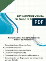 Contaminacion Quimica del Fluido de Perforacion