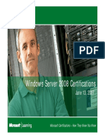 Live Meeting Windows Server 2008