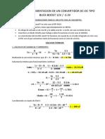 Diseño e Implementacion de Un Convertidor Dc