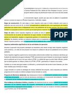 Análisis de Matriz Leopold Del EIA-sd