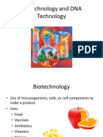 Ch 9 Biotechnology and DNA Technology