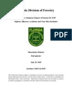 FL DOF Entrapment Preliminary Report 2010-16-0429