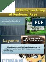 Relihiyon at Kultura Sa Timog at Kanlurang Asya