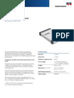 OMICRON UPG 620 Pulse Generator Datasheet