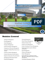 Medical College Management Software Presentation