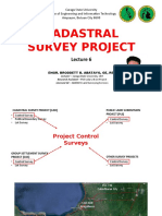 Cadastral and Public Land Survey by Engr. Broddett B. Abatayo, GE, REA