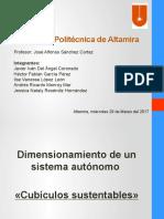 Dimensionamiento de FV