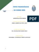 Administracion de Redes Jorge Alberto