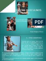 Top 3 de Los Tenistas Masculinos Profesionales