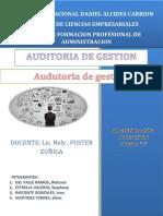 Auditoria de Gestion Monografia