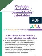 Ciudades y Comunidades Salud