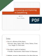 Data Preprocessing and Exploring