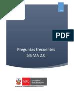 Manual de Preguntas Frecuentes SIGMA 2.0