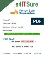 High Success Pass4itsure Lpi 117-202 Vce - LPI Level 2 Exam 202